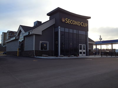 second cup exterior